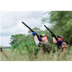 3-Day High Volume Dove Hunt for Eight Hunters in Cordoba, Argentina