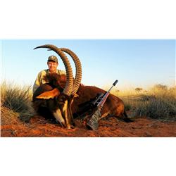 7-Day Sable Hunt for One Hunter and One Non-Hunter in South Africa - Includes Trophy Fee