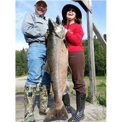 4-Day/5-Night Upscale Alaska Fishing and Wine Package for Four Anglers