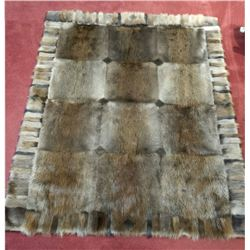 Handmade Beaver Blanket by Holloway Furs