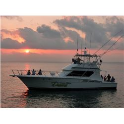 6-Day/5-Night Costa Rica Adventure with 2 Full Days of Sportfishing for Four Anglers