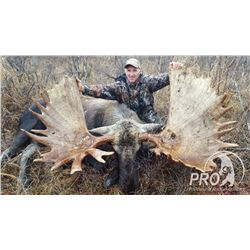 8-Day Kamchatka Giant Moose Hunt for One Hunter in Russia - Includes Trophy Fee
