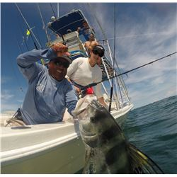 3-Day Tower Boat Fishing Package for Four Anglers in Costa Rica - Includes Spa Credit