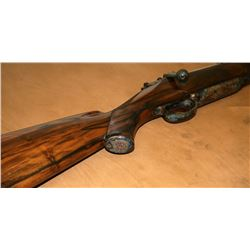 M98 Rigby .416 Caliber Rifle with Arabesque Engraving - Includes Custom Made Rifle Case