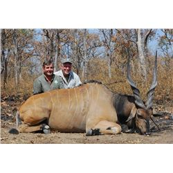 15-Day Lord Derby Eland Hunt for One Hunter and One Non-Hunter in Cameroon