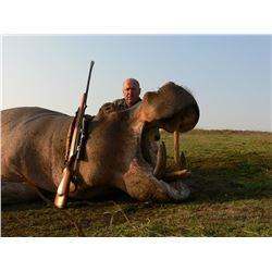 7-Day Hippo Hunt for One Hunter in Zambia - Includes Trophy Fees and Cross Canyon Firearm