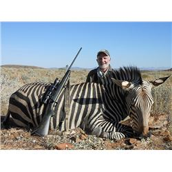 5-Day Mountain Zebra Hunt for Two Hunters and Two Non-Hunters in Namibia - Includes Trophy Fees