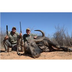 10-Day Cape Buffalo, Sable and Plains Game Hunt for Two Hunters in South Africa - Includes Trophy Fe
