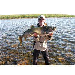 6-Day/6-Night Fishing Trip for Two Anglers in Manitoba, Canada