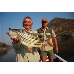 9-Day/8-Night Photographic & Fishing Safari for Four Anglers in Zimbabwe