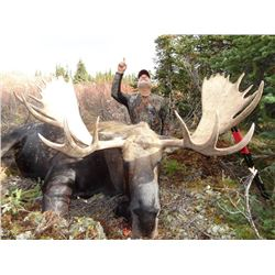 11-Day Moose Hunt for One Hunter in the Yukon Territory - Includes Trophy Fee