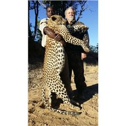 14-Day Leopard Hunt for One Hunter and One Non-Hunter in Namibia - Includes Trophy Fee and Taxidermy