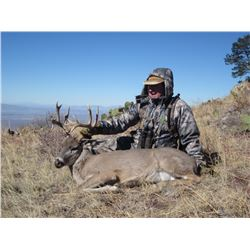 5-Day Coues Deer Hunt for One Hunter and One Non-Hunter in Coahuila, Mexico - Includes Trophy Fee