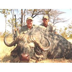 10-Day Cape Buffalo Hunt for One Hunter and One Non-Hunter in Mozambique - Includes Trophy Fee
