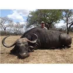 14-Day Cape Buffalo & Sable Hunt for One Hunter in Mozambique