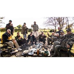 4-Day Duck, Perdiz and High Volume Dove Hunt for Four Hunters in Uruguay - Includes Dorado Fishing