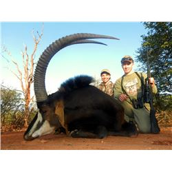 10-Day Trophy Sable/Gemsbok Hunt for Two Hunters and Two Non-Hunters in South Africa - Includes Trop