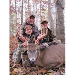 4-Day Whitetail Deer Hunt for One Hunter and One Non-Hunter in Michigan - Includes Trophy Fee