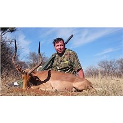 10-Day Plains Game Hunt for Four Hunters and Four Non-Hunters in South Africa - Includes Trophy Fee