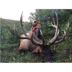 2016 Utah Book Cliffs, Little Creek Roadless Multi Season Conservation Elk Permit