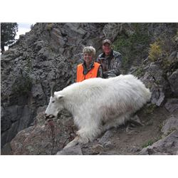 2015 Utah North/South Slope Central High Uintas Rocky Mountain Goat Conservation Permit