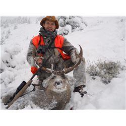 2016 Montana Mule Deer Hunt