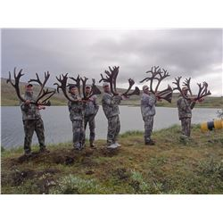 10-Day Trophy Mountain Caribou at Arctic Red Outfitters for (2) Hunters and (1)