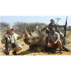 African Rhino Dart Hunt for 2 hunters