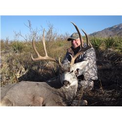 2016 Mule Deer Hunt in the Carmen Mountains of Mexico