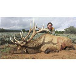 2016 Utah San Juan Multi-Season Elk Conservation Permit
