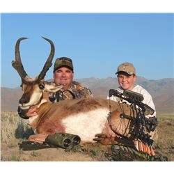 2016 Utah Statewide Pronghorn Conservation Permit