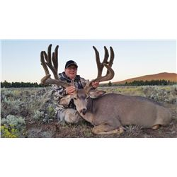 2016 Arizona Special License - Mule Deer Tag