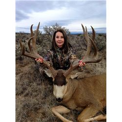 2016 Jicarilla Tribe Mule Deer and Elk Combo Auction Permit