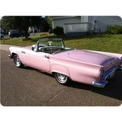 3:00 SATURDAY FEATURE! 1957 FORD THUNDERBIRD ROADSTER