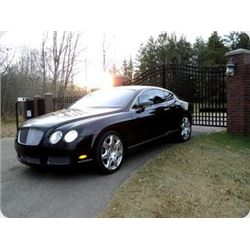 2005 BENTLY CONTINENTAL GT MULLINER