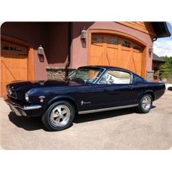 1965 FORD MUSTANG K CODE FASTBACK