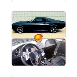 """1968 FORD MUSTANG """"ELEANOR"""" FASTBACK"""