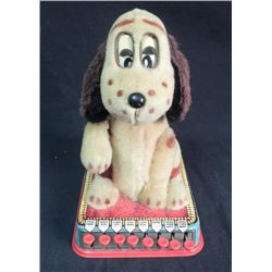 "1960 Marx Toy ""Buttons Puppy With A Brain"""