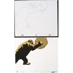 Cel Herculoids Animation Drawing Pay Up Original