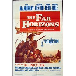 1955 The Far Horizons Charlton Heston Movie Poster