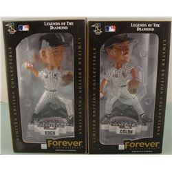 Colon and Koch Chicago White Sox Bobble Heads MIB