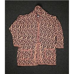 St Pierre Ladies Jungle Leopard Print Sweater Size 3