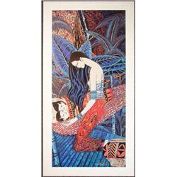 Lot 50 Ting Shao Kuang Yunnan TWINS Chinese Art Posters