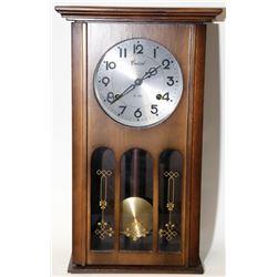 Antique Centurion Wooden Pendulum Wall Clock Chimes