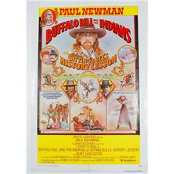 Buffalo Bill and the Indians Vintage Movie Poster