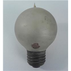 Antique Edison Mazda Working Frosted Tipped Light Bulb