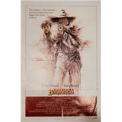 Barbarosa Original Vintage Movie Poster Willie Nelson