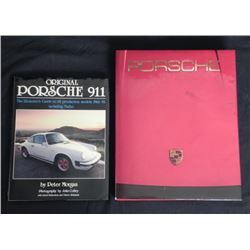 2 Books: Porsche 911-P. Morgan, Fine Art of Sports Car