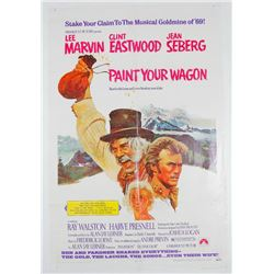 Paint Your Wagon Vintage Movie Poster Clint Eastwood