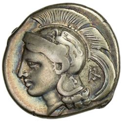 VELIA: ca. 350-251 BC, AR didrachm (7.40g), S-461var